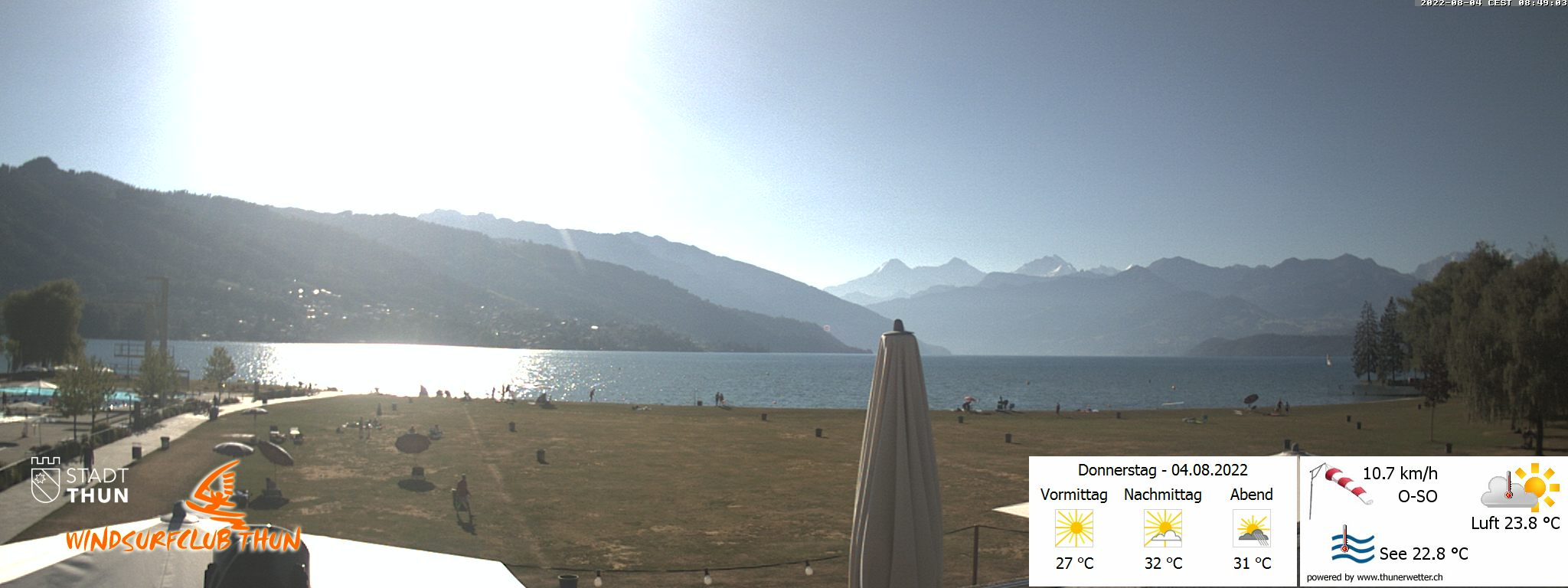 WebCAM Thunersee